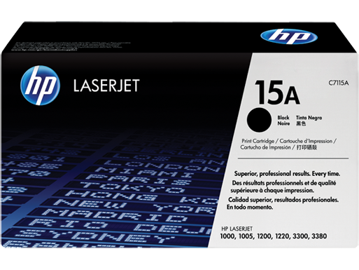 HP Black Toner 15A [C7115A]