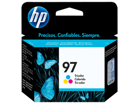 HP Tri-Color Ink Cartridge 97 [C9363WA]
