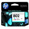Tinta HP  Small Tri-Color Ink Cartridge 802 [CH562Z]